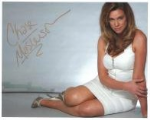 Chase Masterson (Star Trek DS9) - Genuine Signed Autograph 7116
